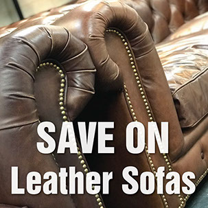 Leather Sofa Deals from Top Secret Furniture