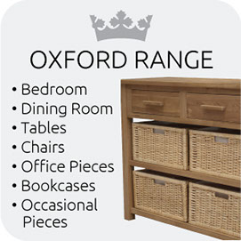 Oxford Range from Top Secret Furniture
