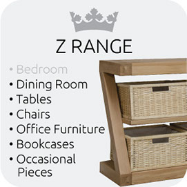 Z range from Top Secret Furniture